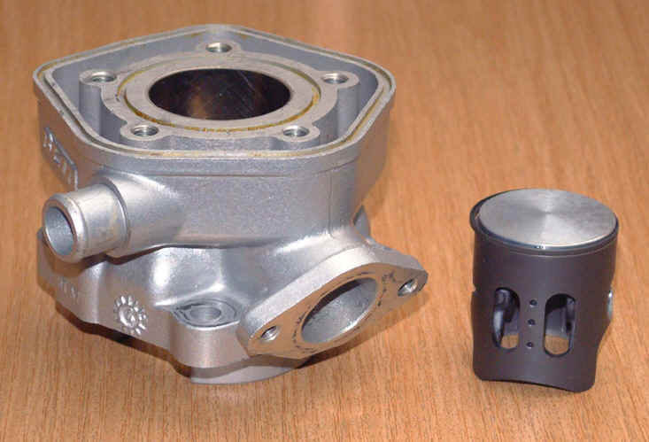 Stempel sylinder klaring