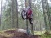 høytflyvende motorsyklist