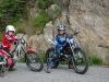 To glade gutter på sykkelen