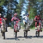 Teamet søker jenter som vil opp og fram! Bildet er fra samling på OMS 2011; fra venstre: Connie Ludvigsen, Anja Larsen, Silje Østlie og Ine Susanne Jensen.