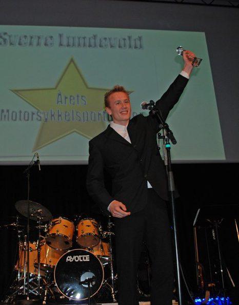 Sverre Lundevold ble årets motorsykkelutøver 2012