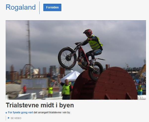 NRK Rogaland var på plass og lagde et innslag fra formiddagens kvalifisering. (åpner i nytt vindu)
