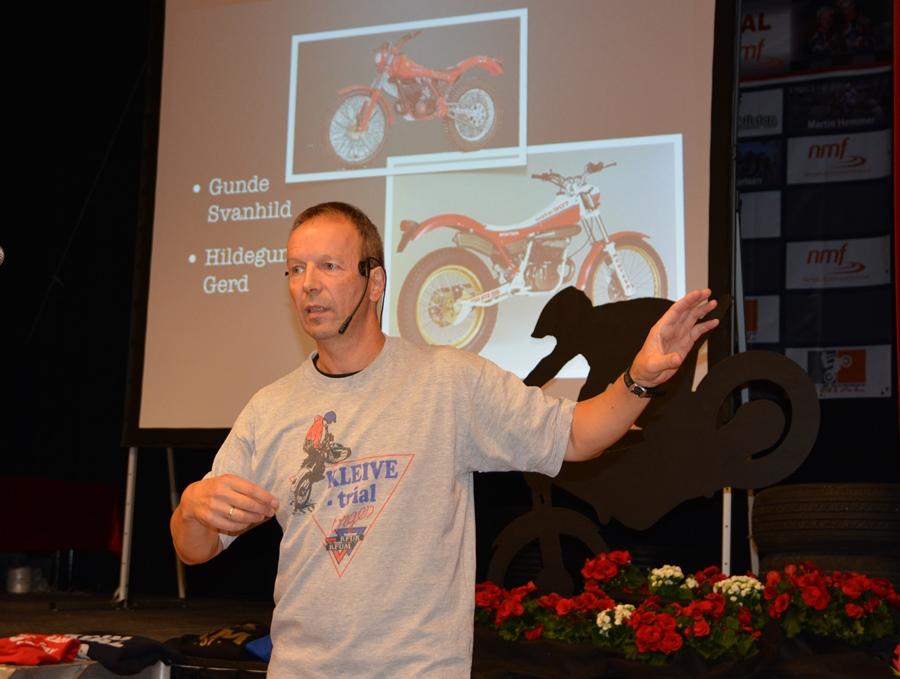 """Det ble holdt avstemning om navn på klubbsyklene, etter at Knut Holm hadde forklart at """"Du må aldri ha en sykkel uten navn..""""  Holm er an av flere sædeles gode utøvere som reiste opp som trenere da klubben var nystartet."""