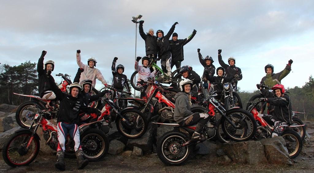 Trenere og deltakere- foto Henrik Haga