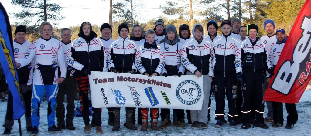 Team Motorsyklisten er svært synlige under løp og premieutdelinger. Nå får de konkurranse av Gas Gas- og Ossa teamene som har alle planer om å jekke dem ned et hakk til sommeren..