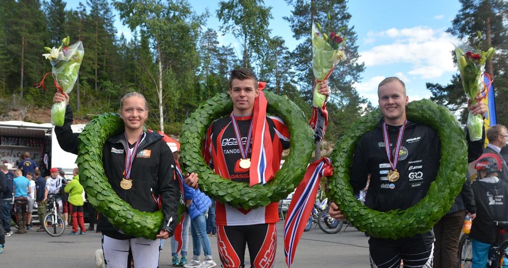 Ingveig Håkonsen -Julian Berntsen (junior) og Håkon Pedersen  er årets norgesmestere