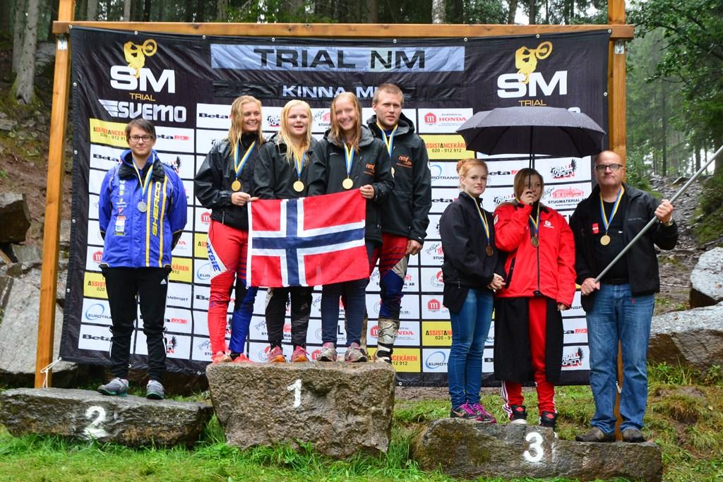 Art det ble norsk seier var ingen overraskelse, men Estland og Danmark er nye lag på pallen!