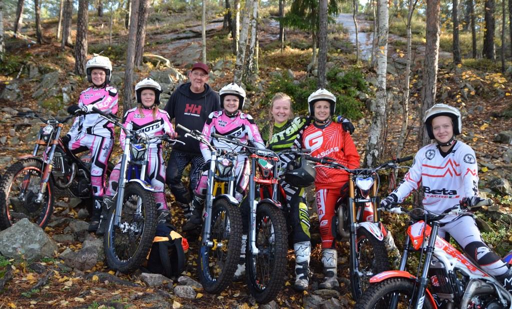 Trial Team Girls 2014, minus Helene Sørlie - som var opptatt som trener for yngre jenter.