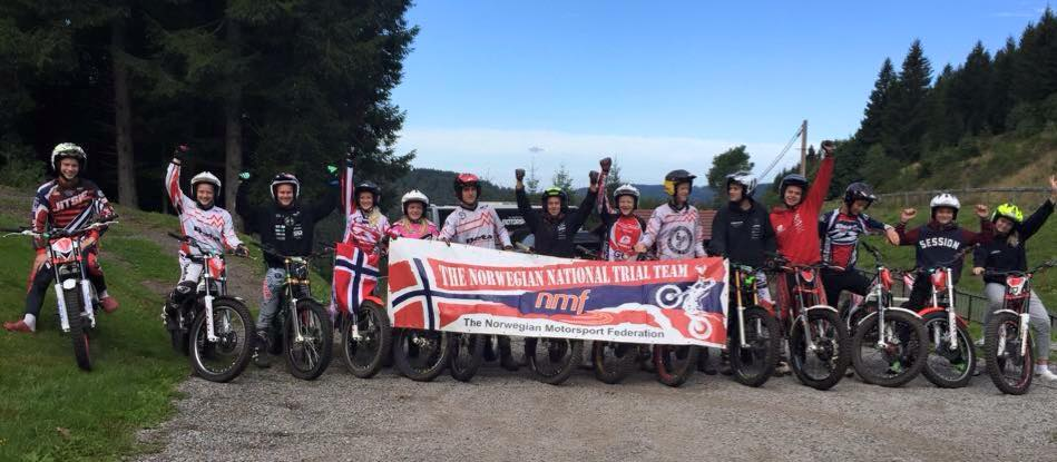 Alle de norske deltakerne! Foto: Martin Haga