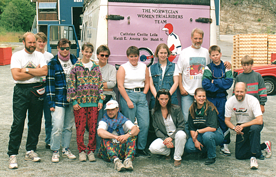 gruppebilde fra Italia 1993