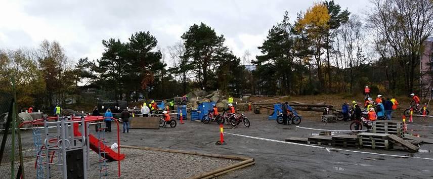 lekeapparater for store og små :-) Foto Linda K Hallset Skavland