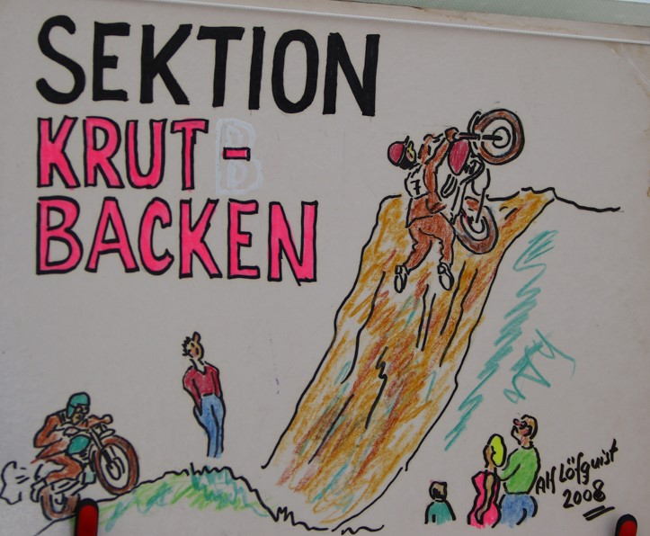 Seksjonene har navn her i Årsracet. Foto Bengt Carlsson