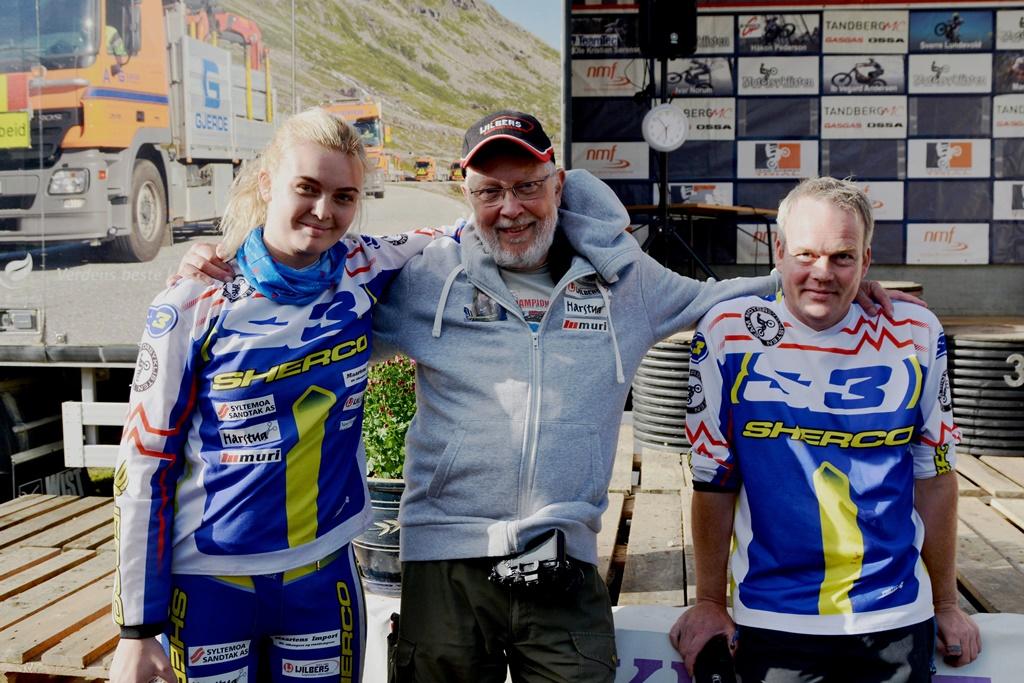 Erika, Maarten og Peter